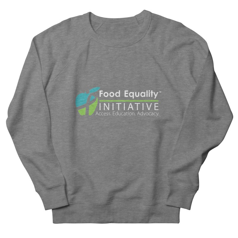"FEI Logo in White Women's Sweatshirt by FoodEqualityShop""s Artist Shop"