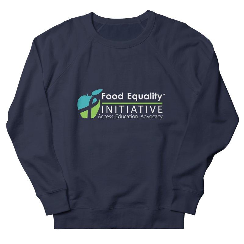 """FEI Logo in White Women's Sweatshirt by FoodEqualityShop""""s Artist Shop"""
