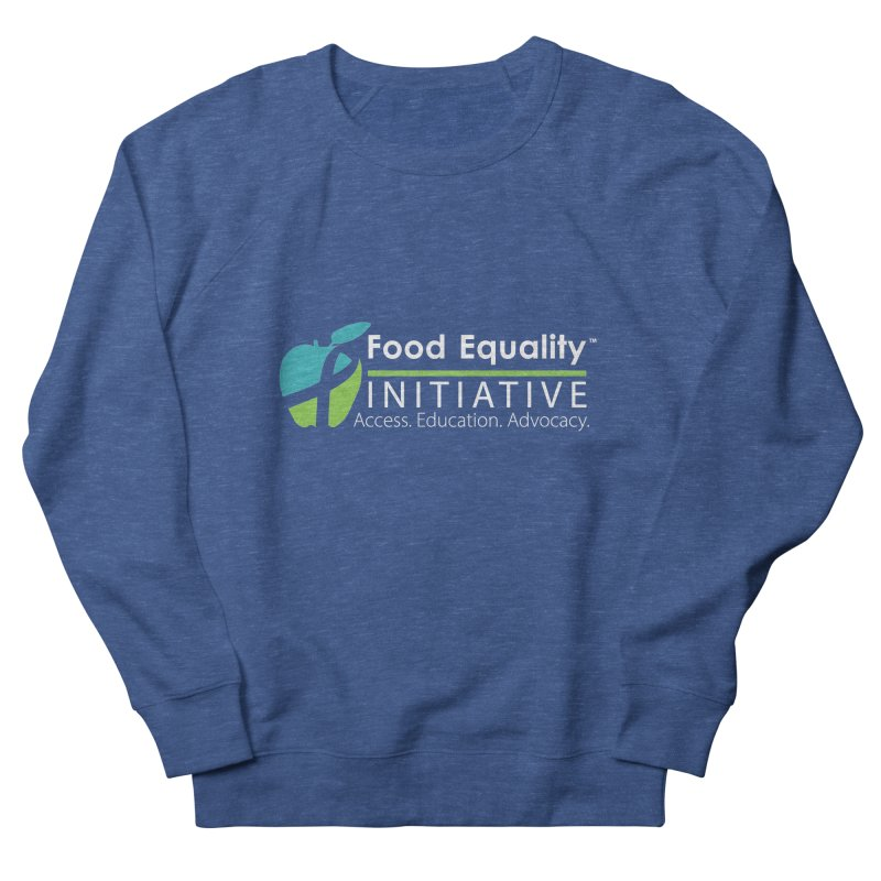 "FEI Logo in White Men's Sweatshirt by FoodEqualityShop""s Artist Shop"