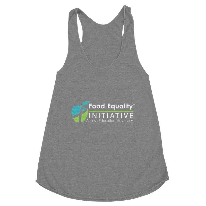 "FEI Logo in White Women's Tank by FoodEqualityShop""s Artist Shop"
