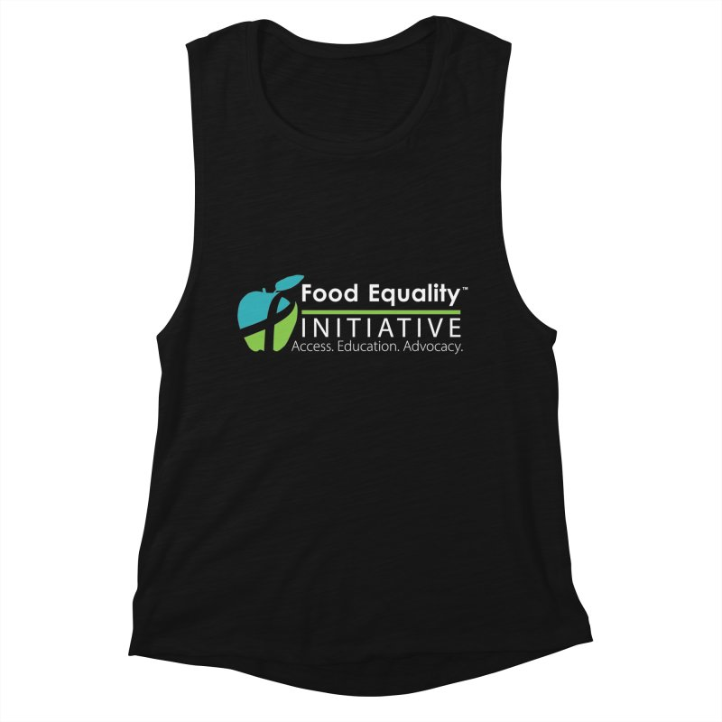 "FEI Logo in White Women's Tank by FoodEqualityShop""s Artist Shop"