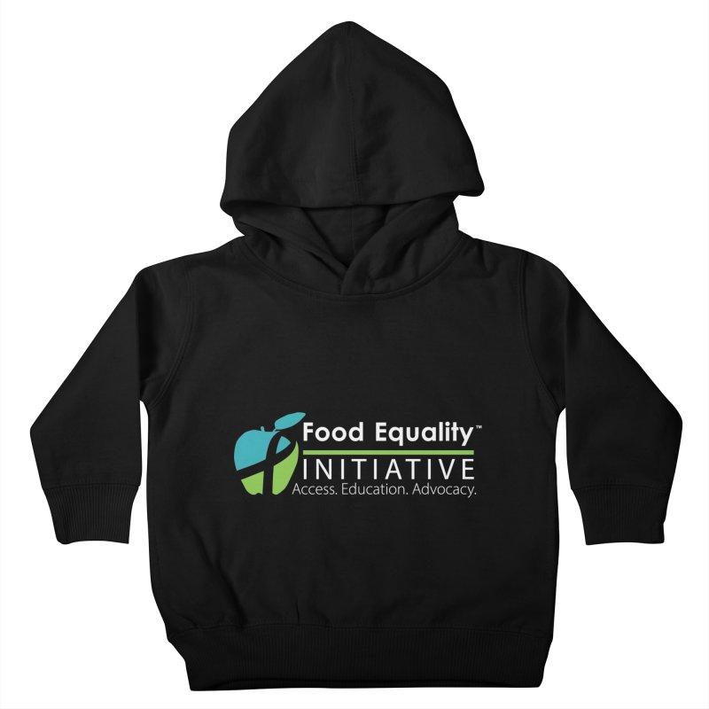 "FEI Logo in White Kids Toddler Pullover Hoody by FoodEqualityShop""s Artist Shop"