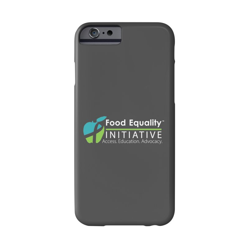 "FEI Logo in White Accessories Phone Case by FoodEqualityShop""s Artist Shop"