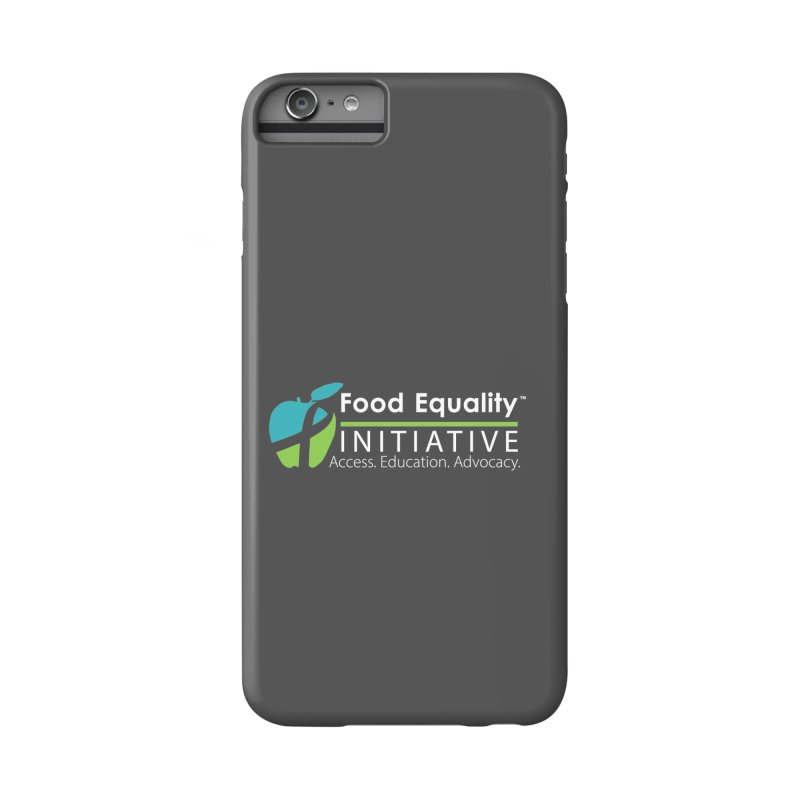 """FEI Logo in White Accessories Phone Case by FoodEqualityShop""""s Artist Shop"""