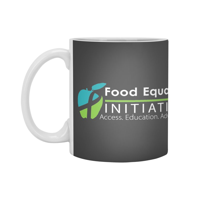 "FEI Logo in White Accessories Mug by FoodEqualityShop""s Artist Shop"