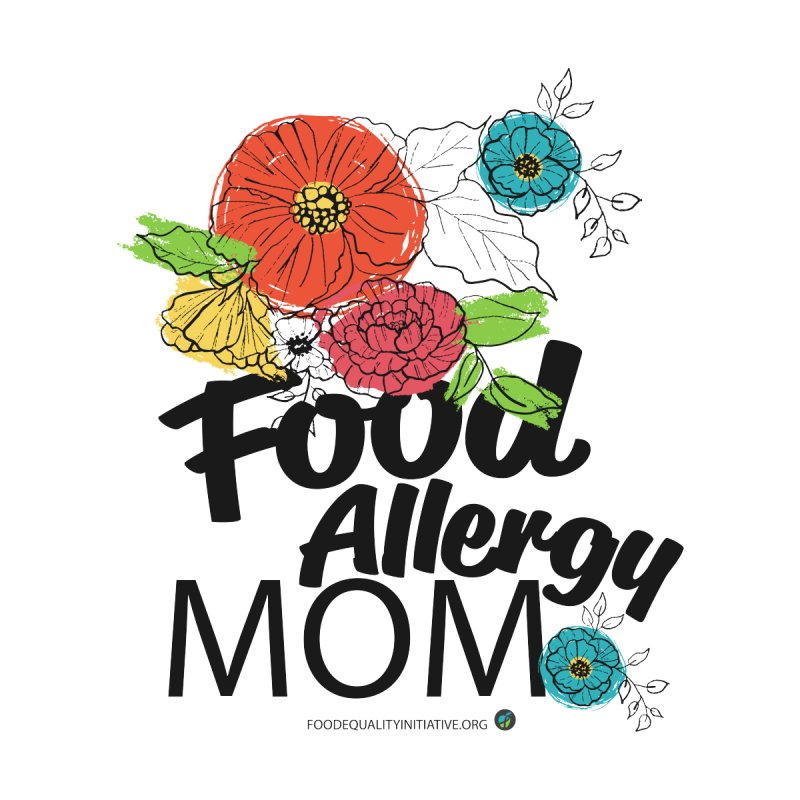 """I Am a Food Allergy Mom! Accessories Notebook by FoodEqualityShop""""s Artist Shop"""