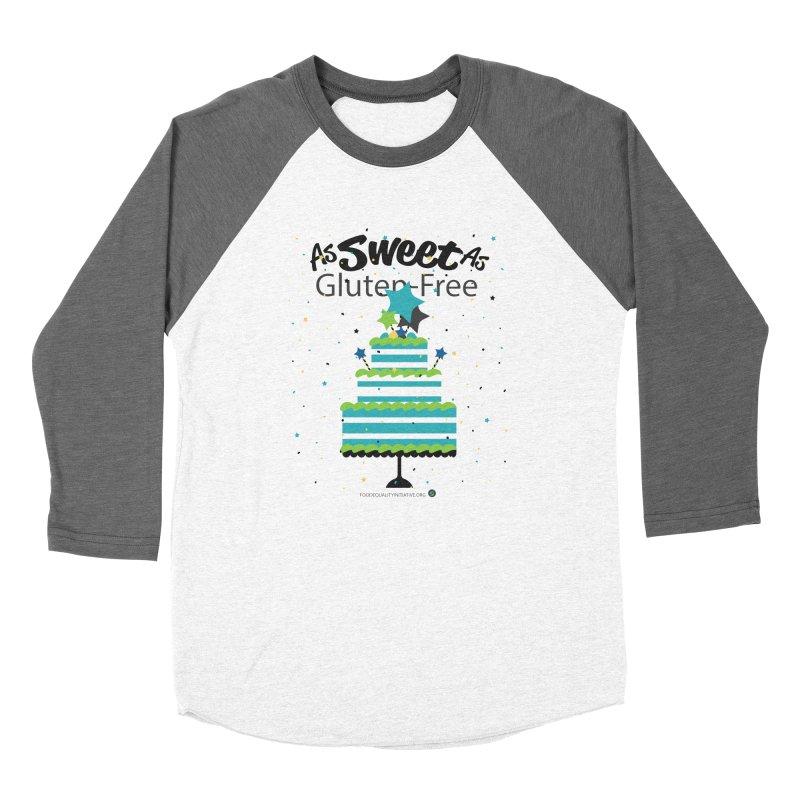"I Am As Sweet As Gluten-Free Cake Women's Longsleeve T-Shirt by FoodEqualityShop""s Artist Shop"