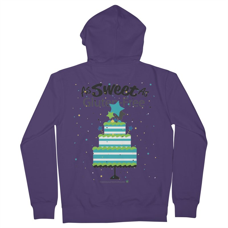 """I Am As Sweet As Gluten-Free Cake Women's Zip-Up Hoody by FoodEqualityShop""""s Artist Shop"""