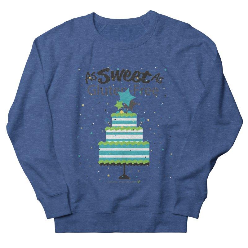"I Am As Sweet As Gluten-Free Cake Men's Sweatshirt by FoodEqualityShop""s Artist Shop"
