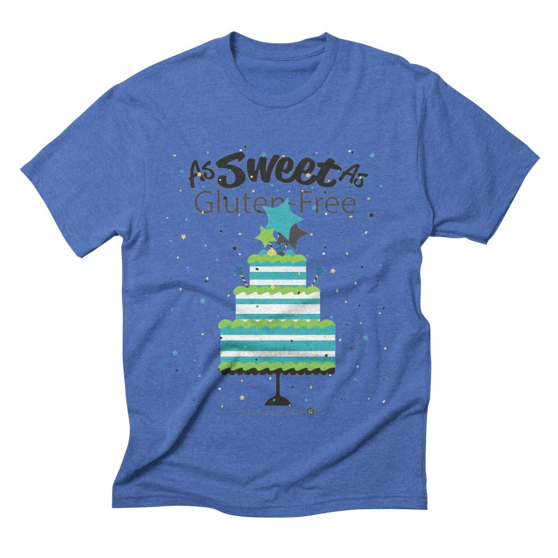 """I Am As Sweet As Gluten-Free Cake Men's T-Shirt by FoodEqualityShop""""s Artist Shop"""