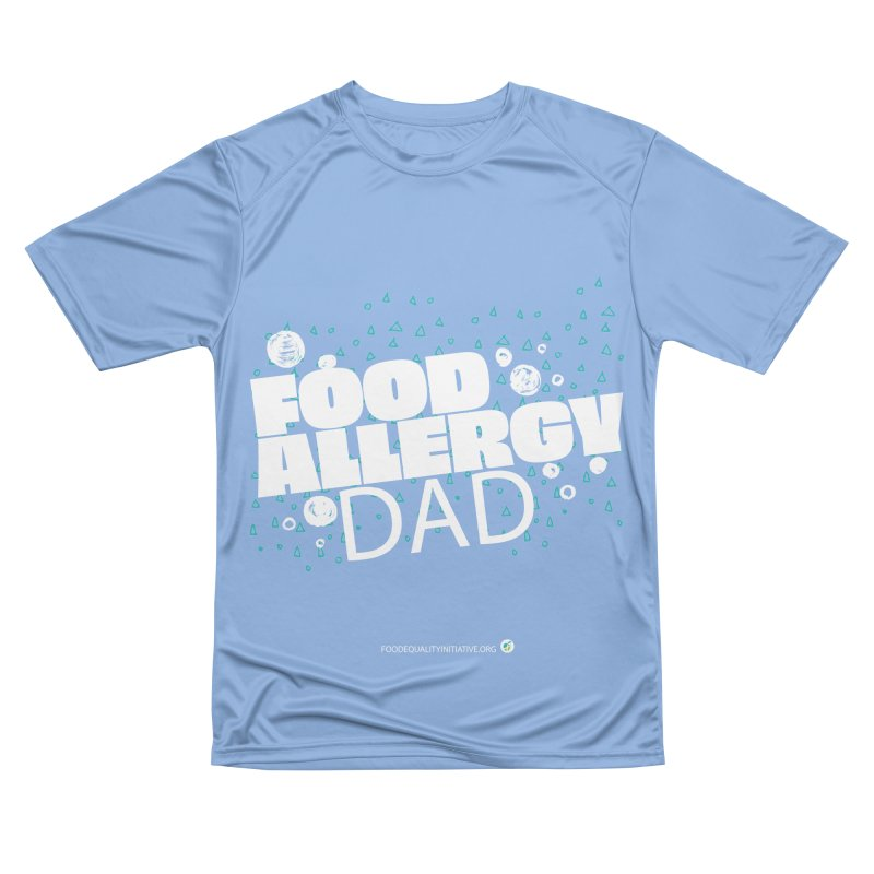 """I Am a Food Allergy Dad in white Men's T-Shirt by FoodEqualityShop""""s Artist Shop"""