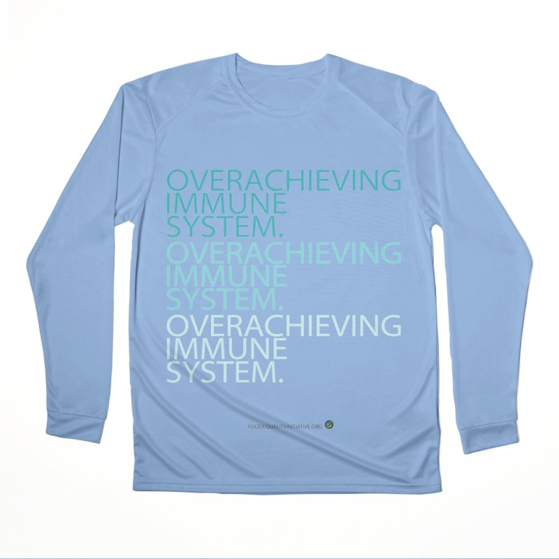 """Overachieving Immune System Men's Longsleeve T-Shirt by FoodEqualityShop""""s Artist Shop"""