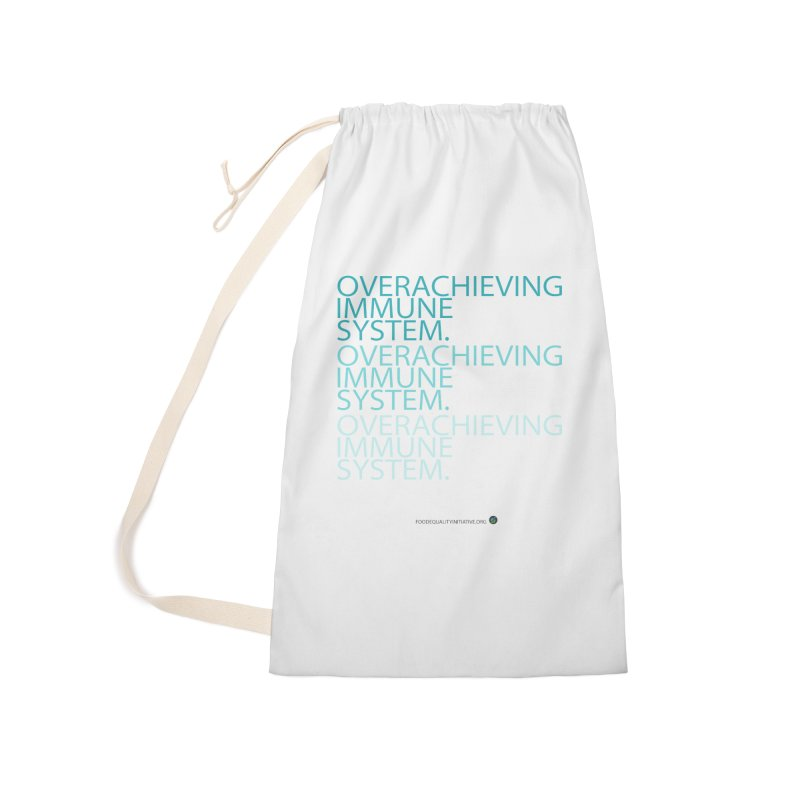 """Overachieving Immune System Accessories Bag by FoodEqualityShop""""s Artist Shop"""