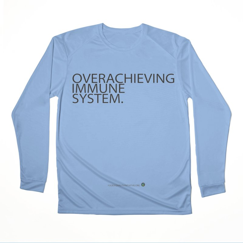 """Overachieving Immune System in Gray Men's Longsleeve T-Shirt by FoodEqualityShop""""s Artist Shop"""