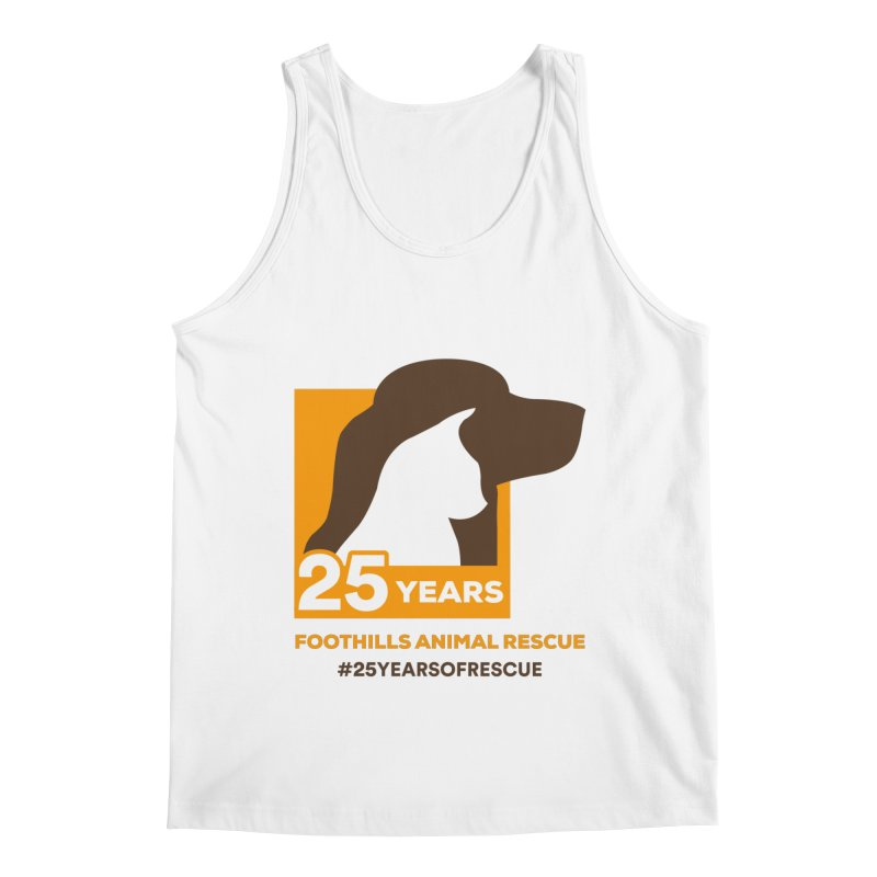 25 Years Emblem Men's Regular Tank by Foothills Animal Rescue Swag
