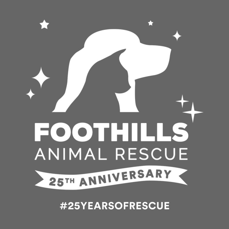 25th Anniversary Ribbon (Light Version) Men's T-Shirt by Foothills Animal Rescue Swag