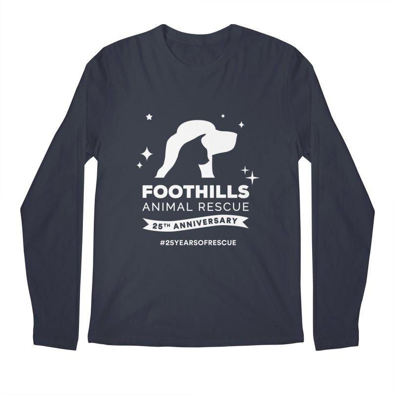 25th Anniversary Ribbon (Light Version) Men's Regular Longsleeve T-Shirt by Foothills Animal Rescue Swag