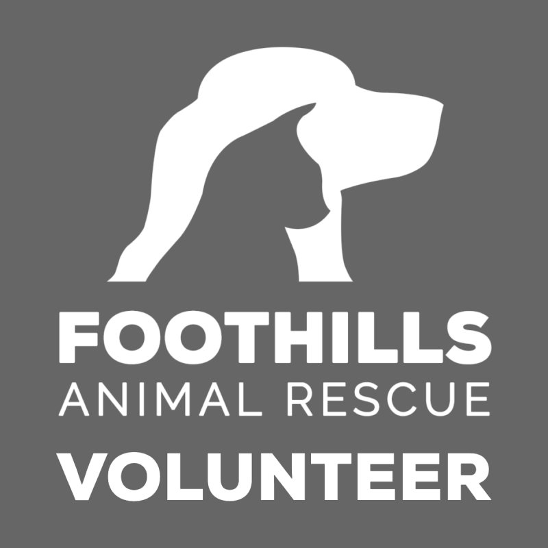 Volunteer Shirt (Light) Men's T-Shirt by Foothills Animal Rescue Swag