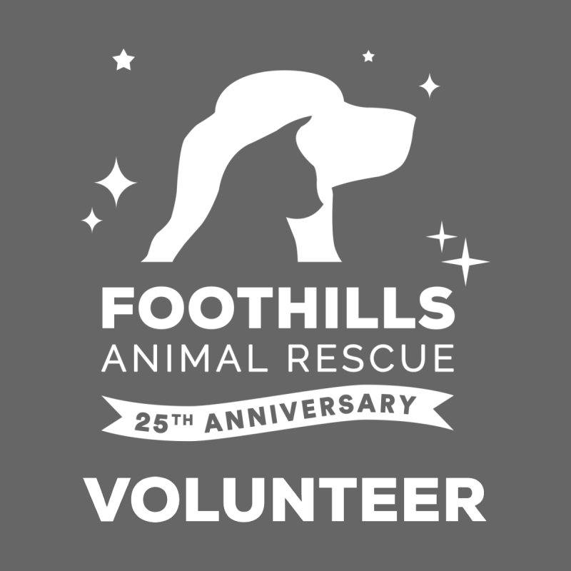 25th Anniversary Volunteer (Light Version) by Foothills Animal Rescue Swag