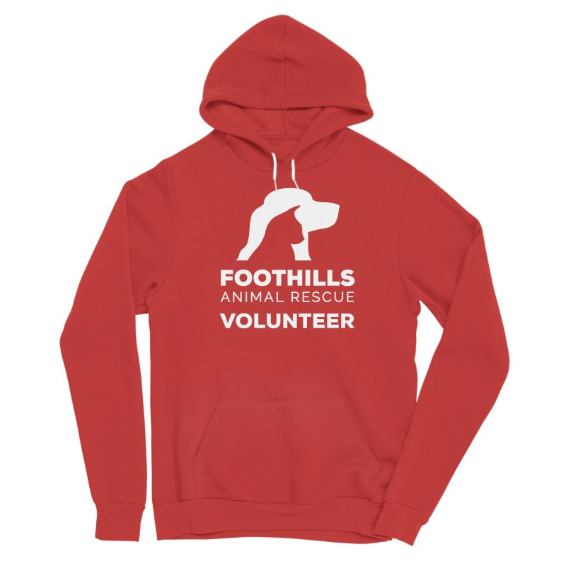 Volunteer Shirt (Light) Women's Pullover Hoody by Foothills Animal Rescue Swag