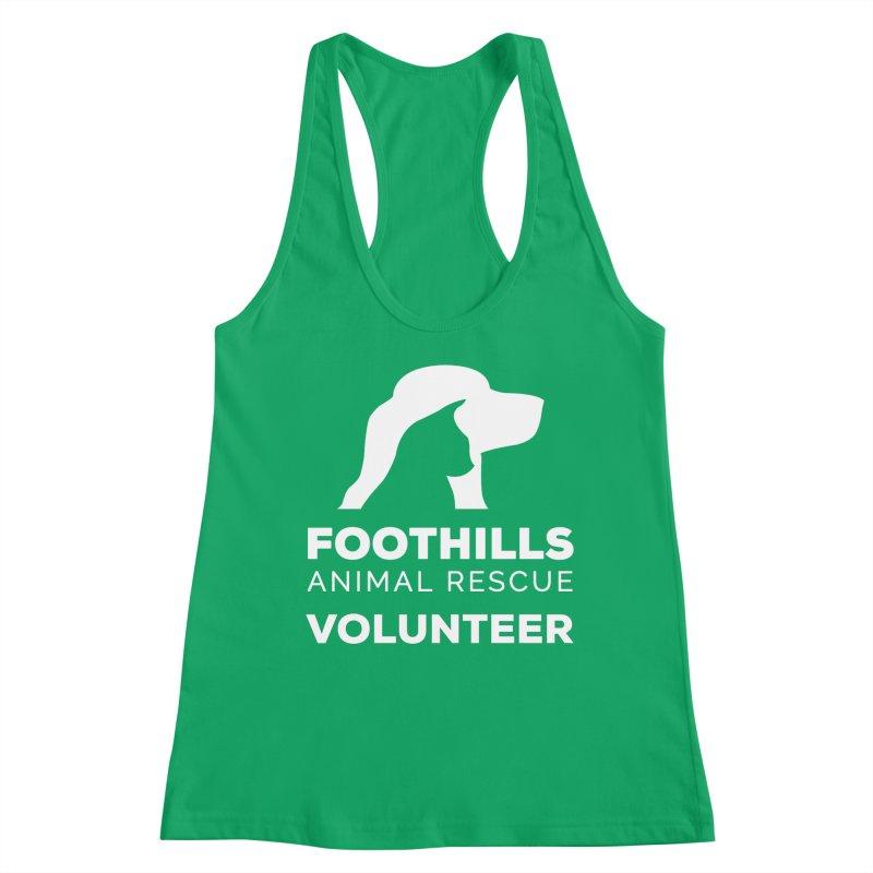 Volunteer Shirt (Light) Women's Tank by Foothills Animal Rescue Swag