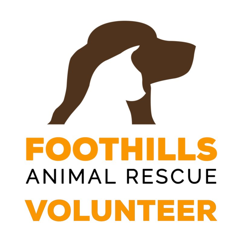 Volunteer Shirt Men's T-Shirt by Foothills Animal Rescue Swag