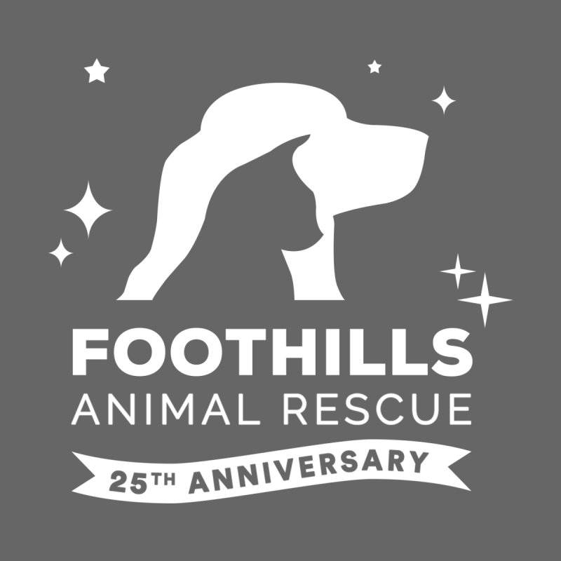 25th Anniversary Sticker (Light Version) Accessories Sticker by Foothills Animal Rescue Swag
