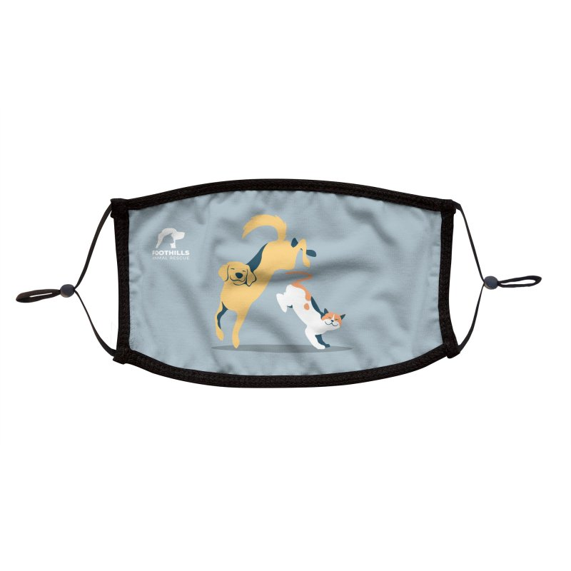 SMILE Face Mask (Lab & Cat) Accessories Face Mask by Foothills Animal Rescue Swag