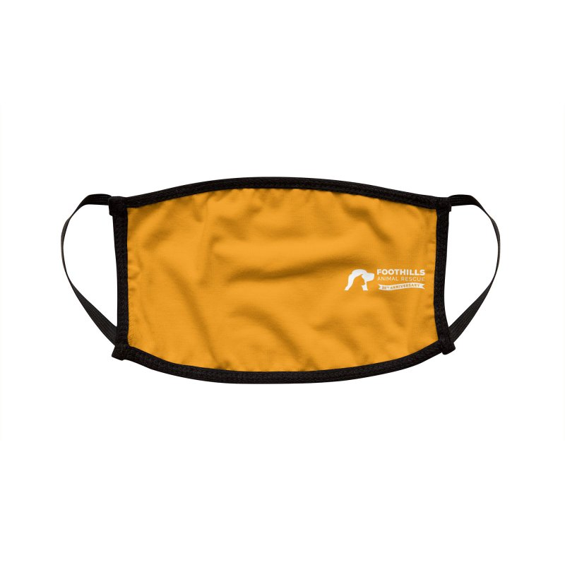 Logo Face Mask Accessories Face Mask by Foothills Animal Rescue Swag