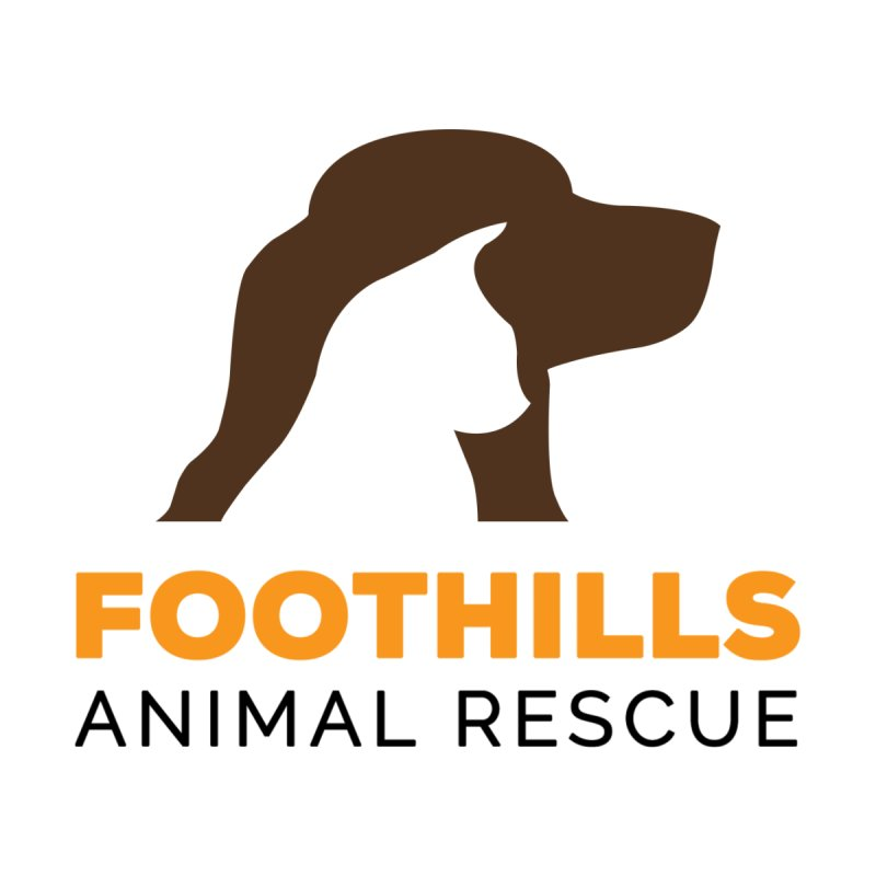 Logo Shirt Men's T-Shirt by Foothills Animal Rescue Swag