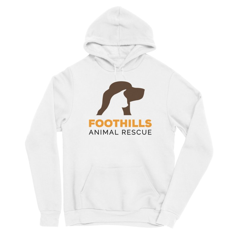 Logo Shirt Women's Pullover Hoody by Foothills Animal Rescue Swag