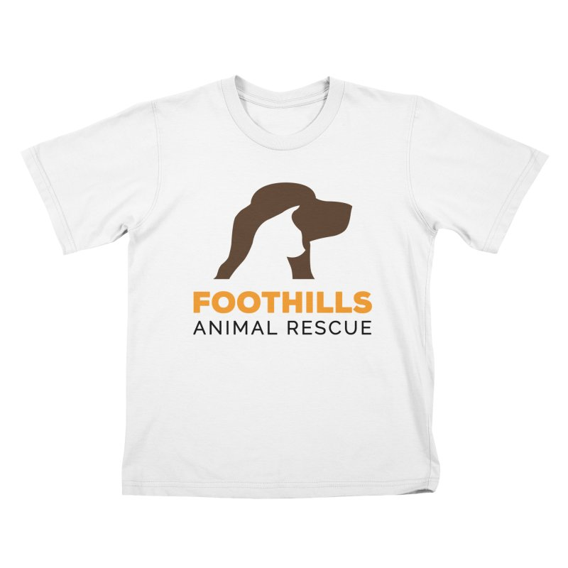 Logo Shirt Kids T-Shirt by Foothills Animal Rescue Swag