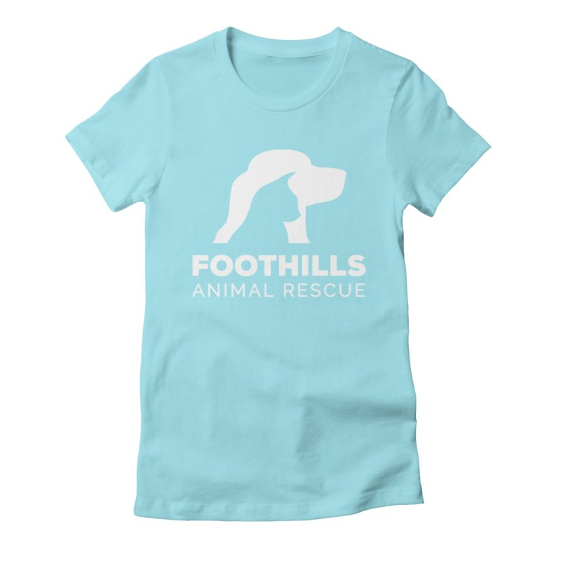 Logo Shirt (Light) Women's T-Shirt by Foothills Animal Rescue Swag