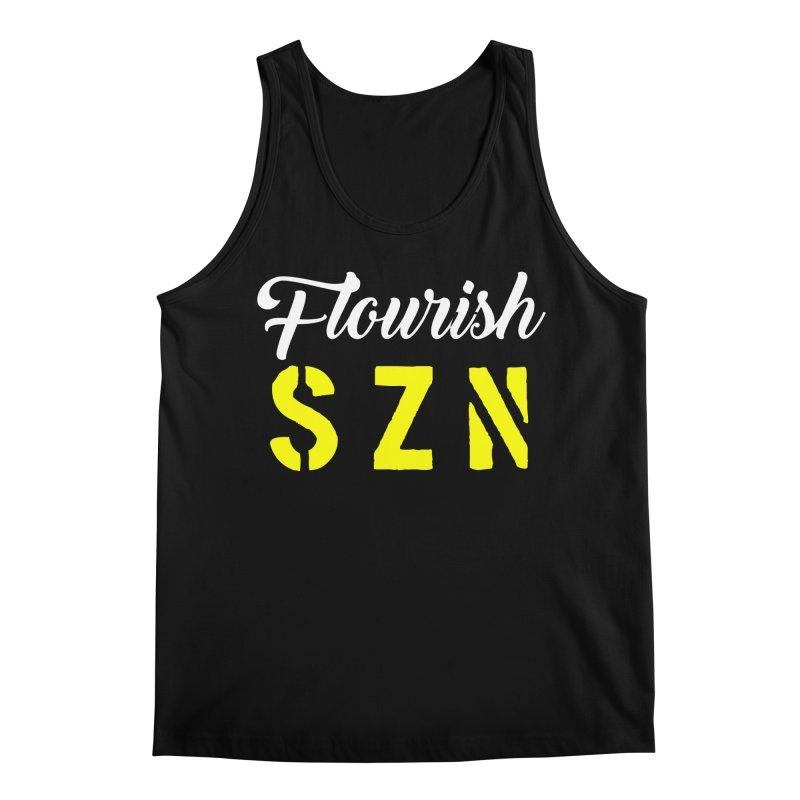 Flourish SZN Men's Tank by For The Culture Media's Artist Shop