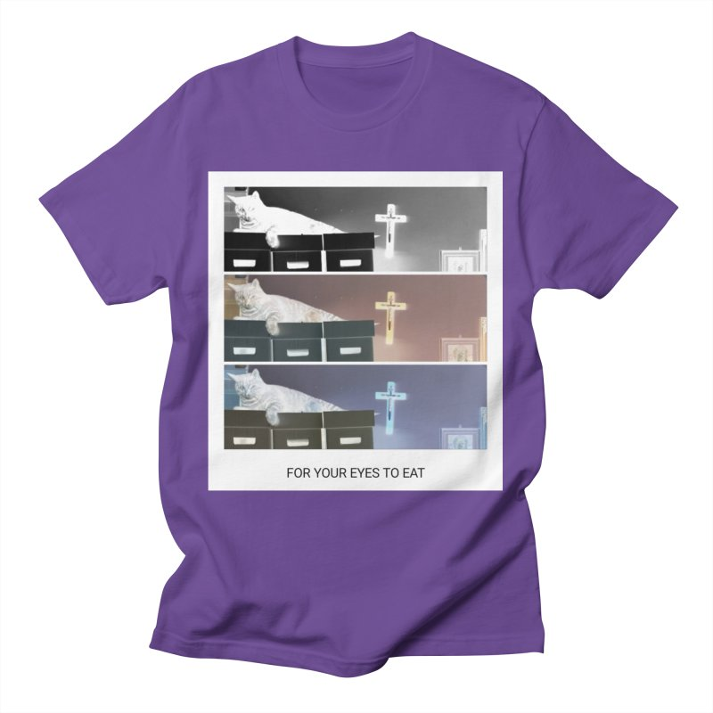 Triple C's Men's T-Shirt by FOR YOUR EYES TO EAT - by Anand Khatri