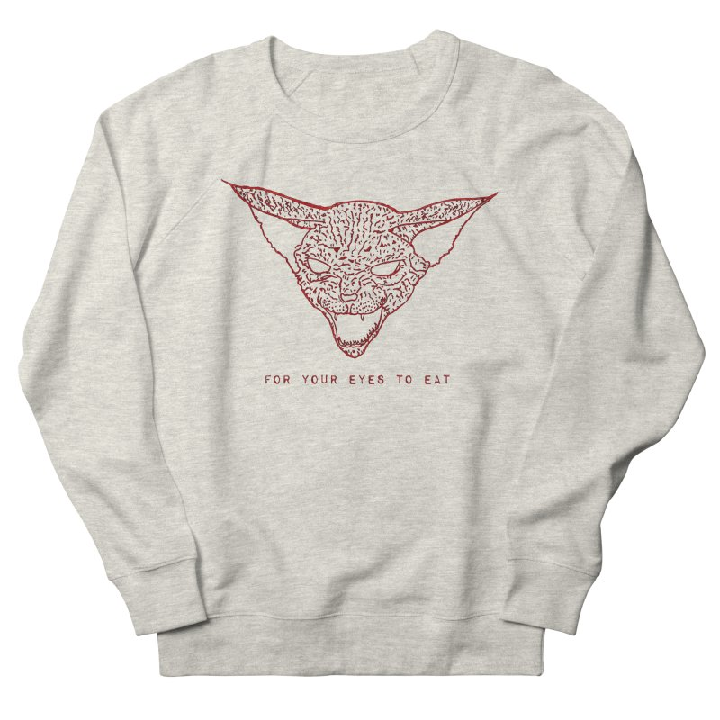 Good Kitty Men's Sweatshirt by FOR YOUR EYES TO EAT - by Anand Khatri