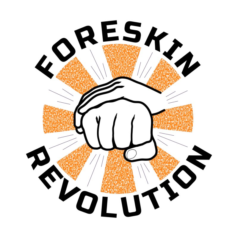 Classic foreskin fist bump Accessories Face Mask by Foreskin Revolution's Artist Shop