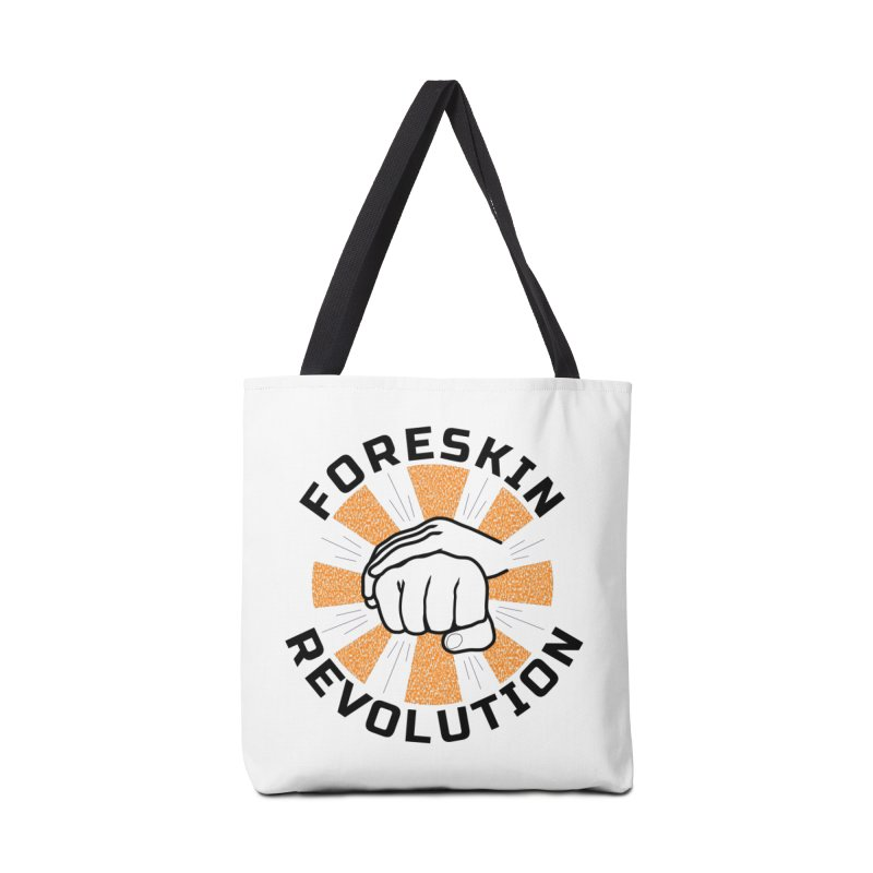 Classic foreskin fist bump Accessories Bag by Foreskin Revolution's Artist Shop
