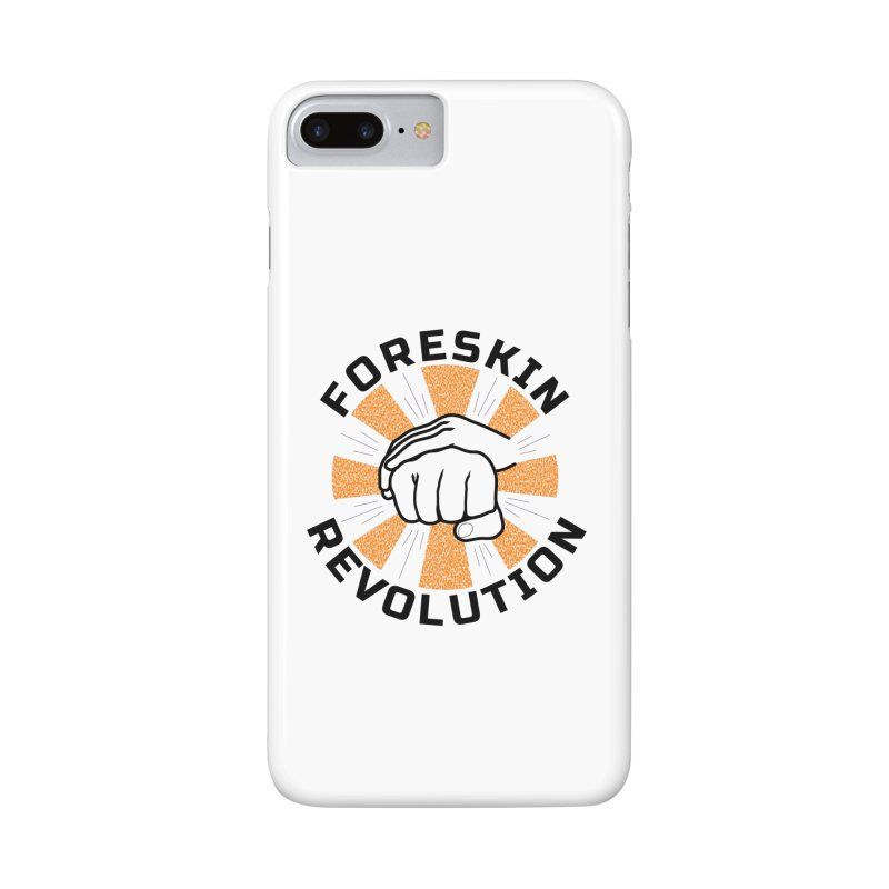 Classic foreskin fist bump Accessories Phone Case by Foreskin Revolution's Artist Shop
