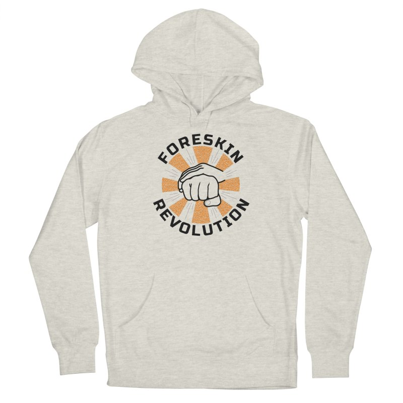 Classic foreskin fist bump Men's Pullover Hoody by Foreskin Revolution's Artist Shop