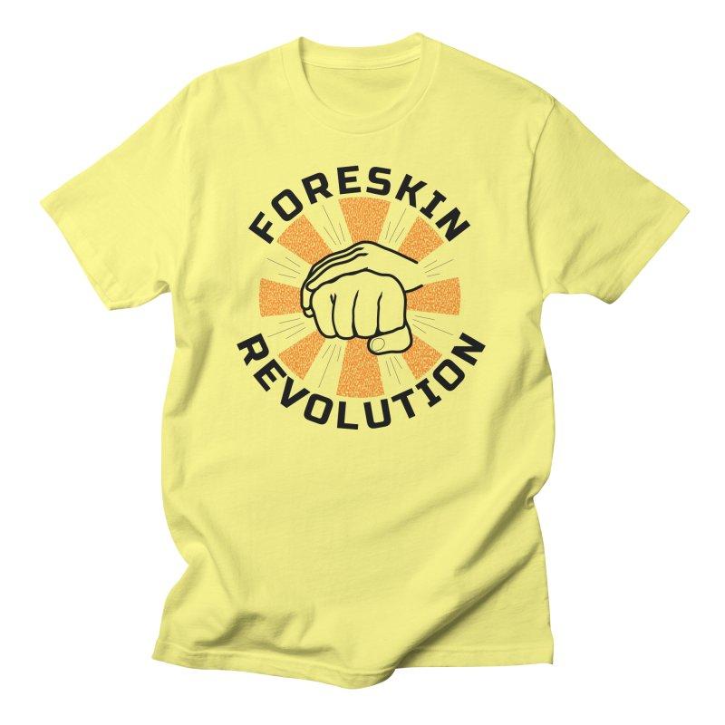 Classic foreskin fist bump Men's T-Shirt by Foreskin Revolution's Artist Shop