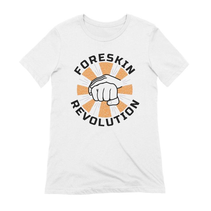 Classic foreskin fist bump Women's T-Shirt by Foreskin Revolution's Artist Shop
