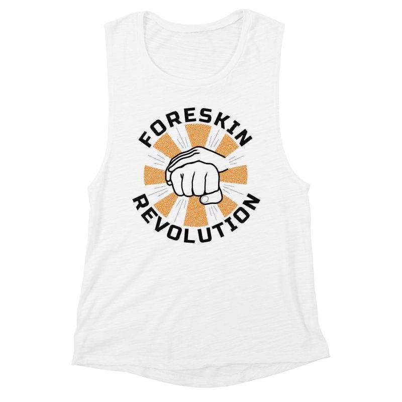Classic foreskin fist bump Women's Tank by Foreskin Revolution's Artist Shop