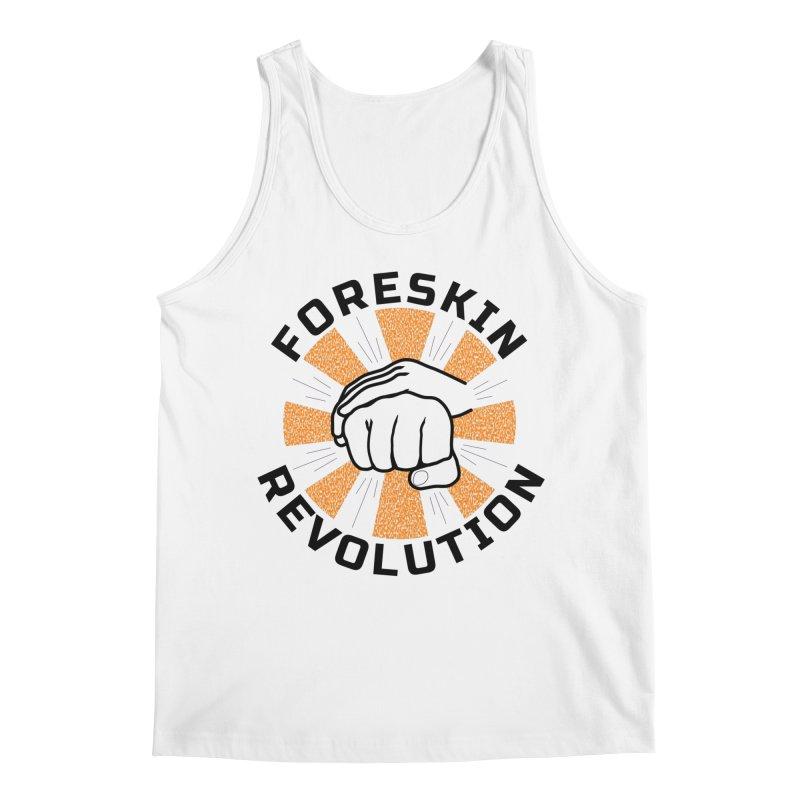 Classic foreskin fist bump Men's Tank by Foreskin Revolution's Artist Shop