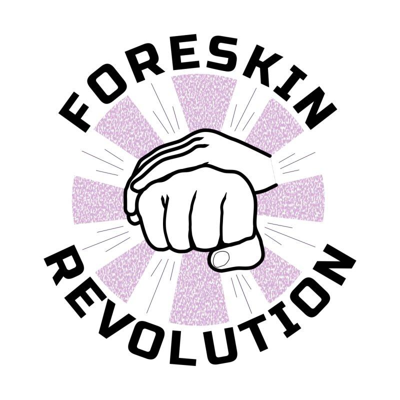 'Purple Rays' foreskin fist bump logo Women's T-Shirt by Foreskin Revolution's Artist Shop