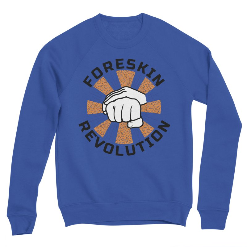 White hands foreskin fist bump logo Women's Sweatshirt by Foreskin Revolution's Artist Shop