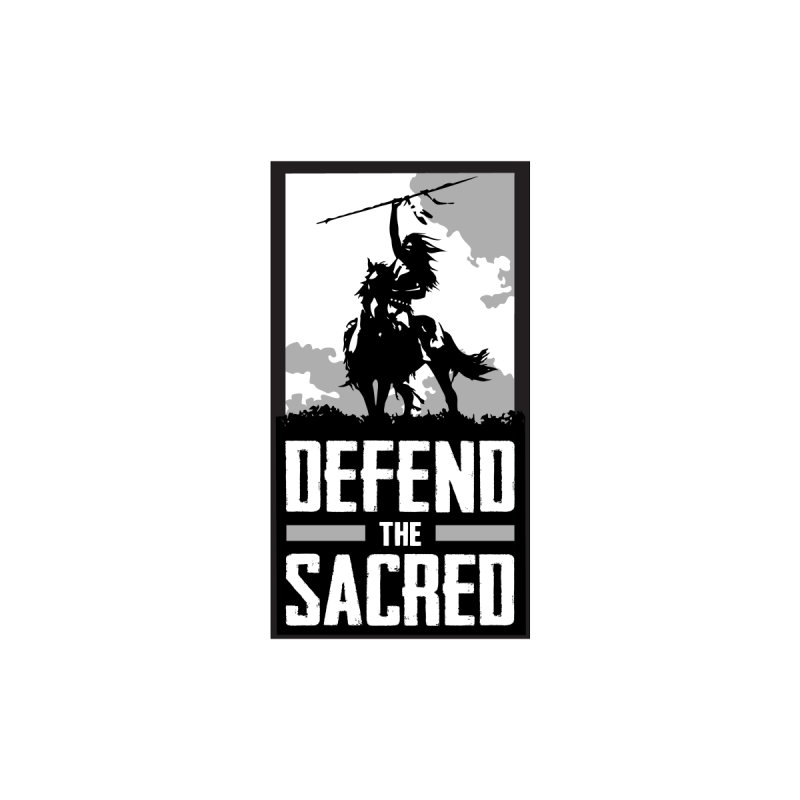 Defend The Sacred Men's T-Shirt by Forest City Designs Artist Shop