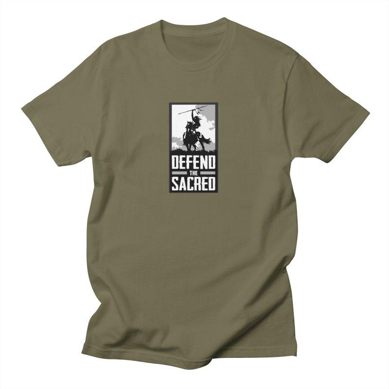 Defend The Sacred Men's T-Shirt by Forest City Designs Artist Shop