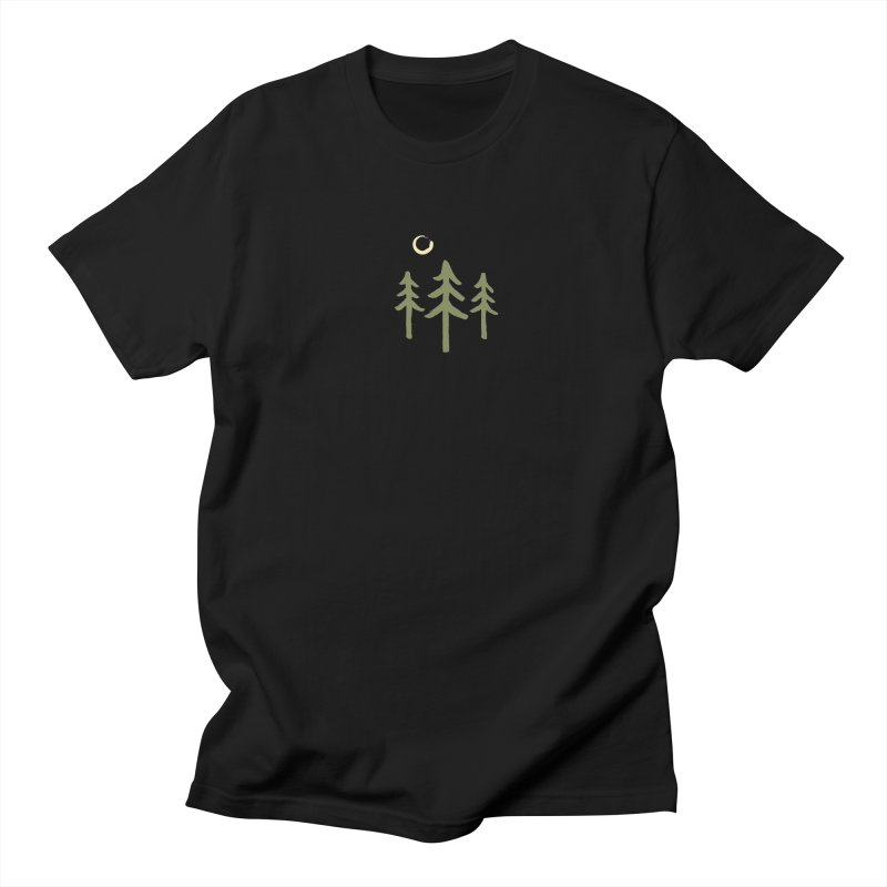 Forest Moon Men's T-Shirt by Forest City Designs Artist Shop