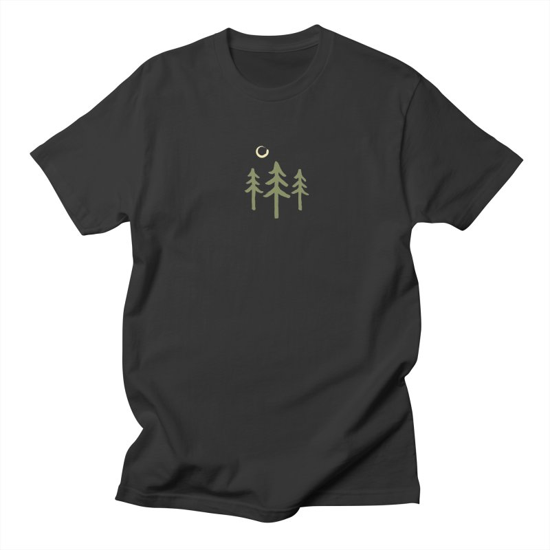 Forest Moon Men's Regular T-Shirt by Forest City Designs Artist Shop